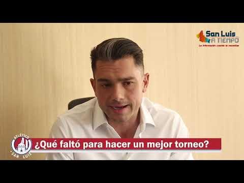 Sí hay interés de comprar al Atlético de San Luis, pero nada en concreto: Alberto Marrero.