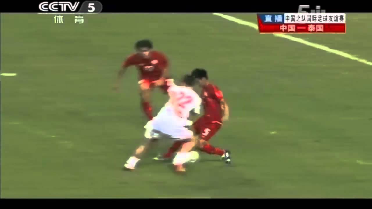 China Vs Thailand 1 5 Friendlymatch2017 Highlights