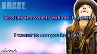 Sara Bareilles - Brave Karaoke/Instrumental