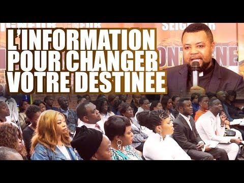 L'information pour changer votre destinée | Ev. Blaise MANZAMBI ~ CASARHEMA