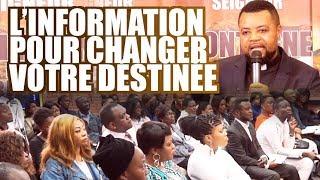 L'information pour changer votre destinée   Ev. Blaise MANZAMBI ~ CASARHEMA