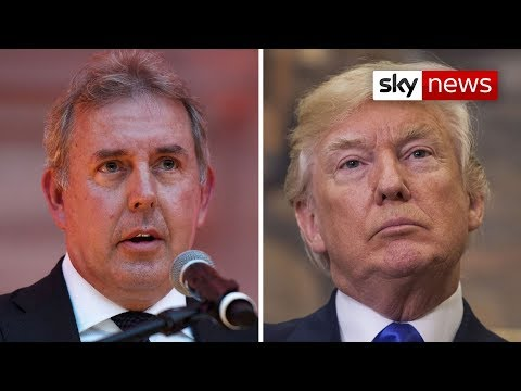 BREAKING NEWS: Sir Kim Darroch resigns amid Trump ambassador row