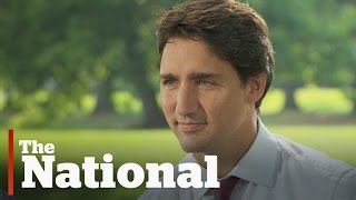 Justin Trudeau Interview with Peter Mansbridge
