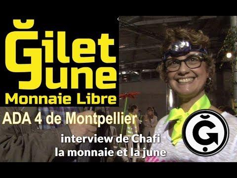 La monnaie libre avec Chafi à l'ADA de Montpellier