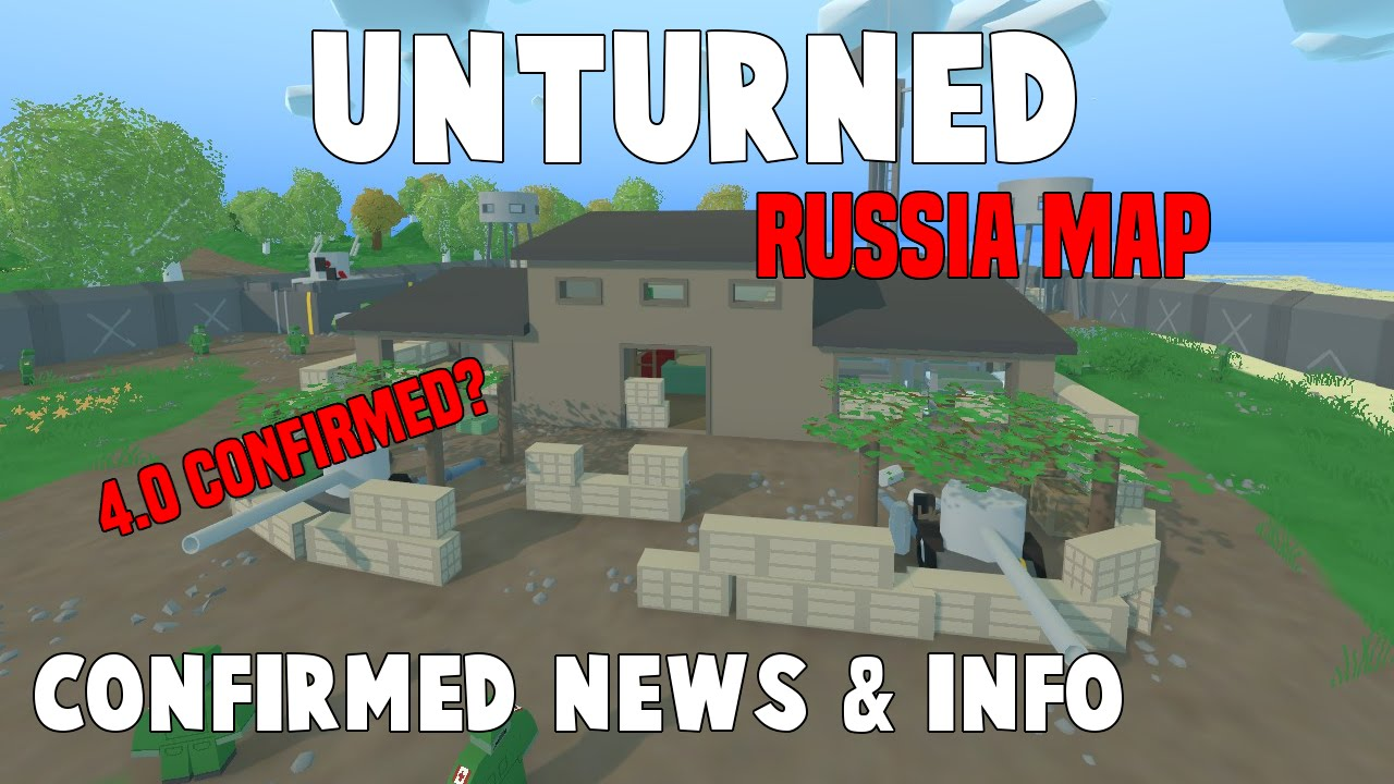 Unturned Official Usa Map