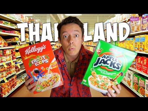 Food Shopping in Thailand's Ridiculously Expensive Supermarkets