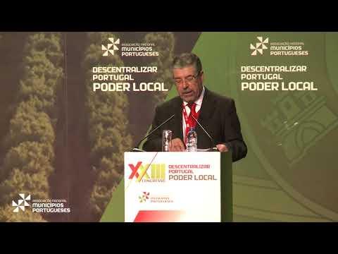 Intervenção de Manuel Machado na abertura do XXIII Congresso da ANMP