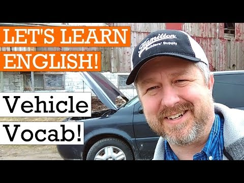 English Vocabulary Lesson On Vehicles: Cars, Trucks, And Vans