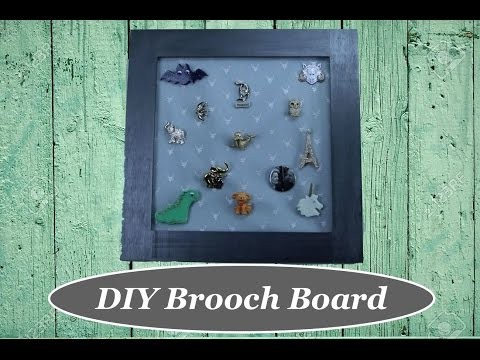 DIY Brooch Board The Rachel Dixon How To Tutorial. Retro Vintage Rockabilly