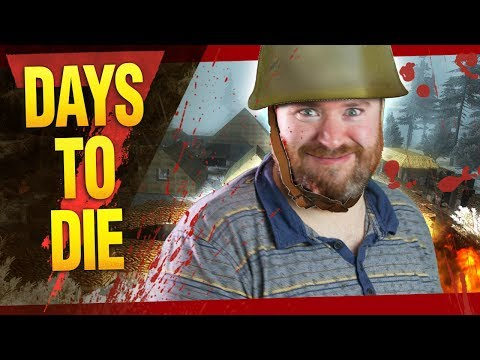 WE FOUND A MILITARY BASE | Simon Days To Die