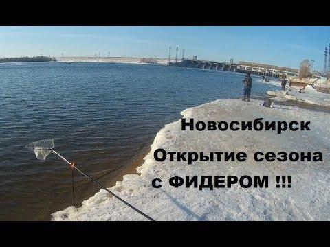 Рыбалка на фидер в Новосибирске. Открытие сезона. Шикарный клёв!!!