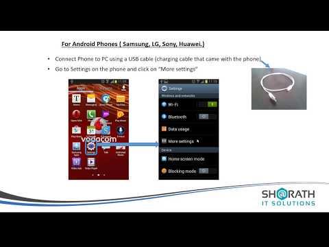 Sharath IT Solutions - Phone Modem
