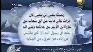 صحيح مسلم - باب صفة غسل الجنابة