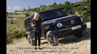 Mercedes Benz G Class 2018  Master Steep Inclines With Jessi Combs