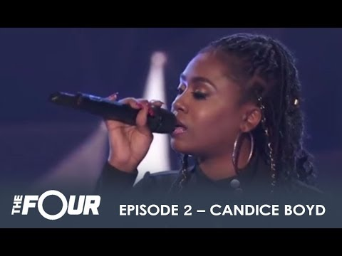 Candice Boyd: The Girl With a RIDICULOUS Voice WOWS The Judges! | The Four