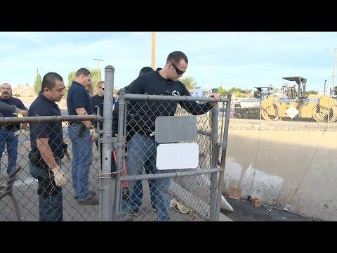Garden Grove Police Help Relocate Homeless