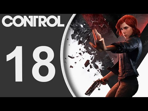 Control Playthrough Pt18 - Find That Janitor! Ashtray Maze FUN And More