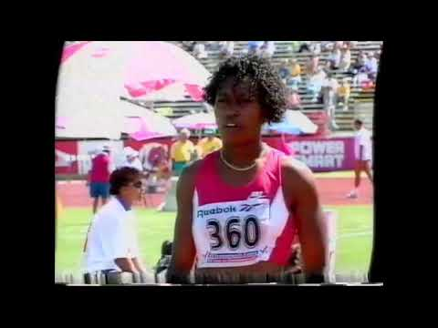 5219 Commonwealth Track & Field Heptathlon Long Jump Jennifer Kelly