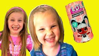 Zoja i Asja  idu u prodavaonicu igračaka, prva LOL Kapsula, Otvaranje LOL, Original Lutka Lol