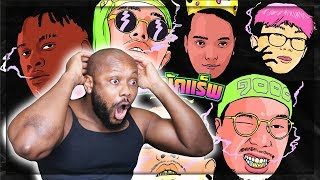 มนต์รักนักแร็พ - FIIXD x KHUN OC x NAMEMT x DIAMOND x BEN BIZZY x YOUNGOHM | THAI RAP | REACTION!!!