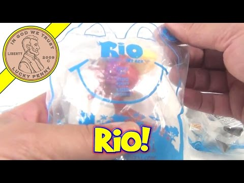 McDonald's Happy Meal Toys Lot 8 of 29 - Rio The Movie 2011 | Kid's Meal Toys | LuckyPennyShop.com