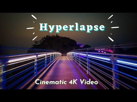Hyperlapse || Cinematic 4K Video || Ulsan Korea || MJB Vlog || Dji Osmo Pocket 2