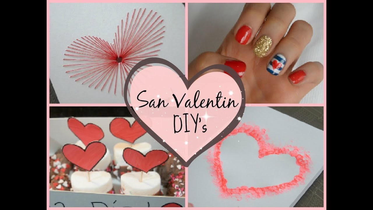 Ideas FACILES para regalar! ♡ (Regalo, Uñas, Tarjetas!) - YouTube
