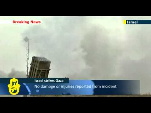 Israel Strikes Back At Gaza IDF Fighter Jets Hit Rocket Launch Sites In Gaza Strip!! Travel Video