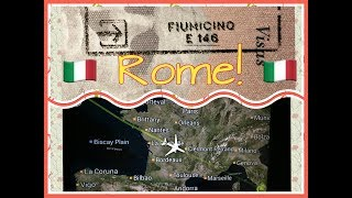 Landing in Rome! Travel Vlog!