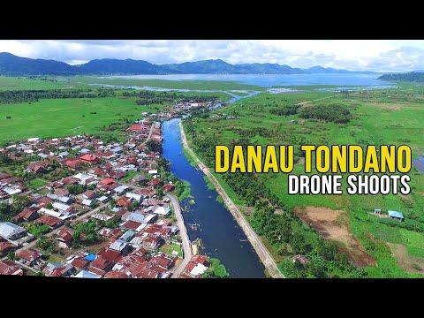 DANAU TONDANO | Panorama Danau Tondano dari Udara | vlogreart2020