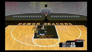 ESPN College Hoops 2K5 - Chris Paul vs Jarrett Jack