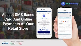Accept sms enabled card/online payment simply and securely at your retail store with a smartphone. no need to invest in pos machine. give us missed call ...