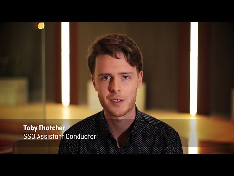 Introducing SSO Assistant Conductor Toby Thatcher