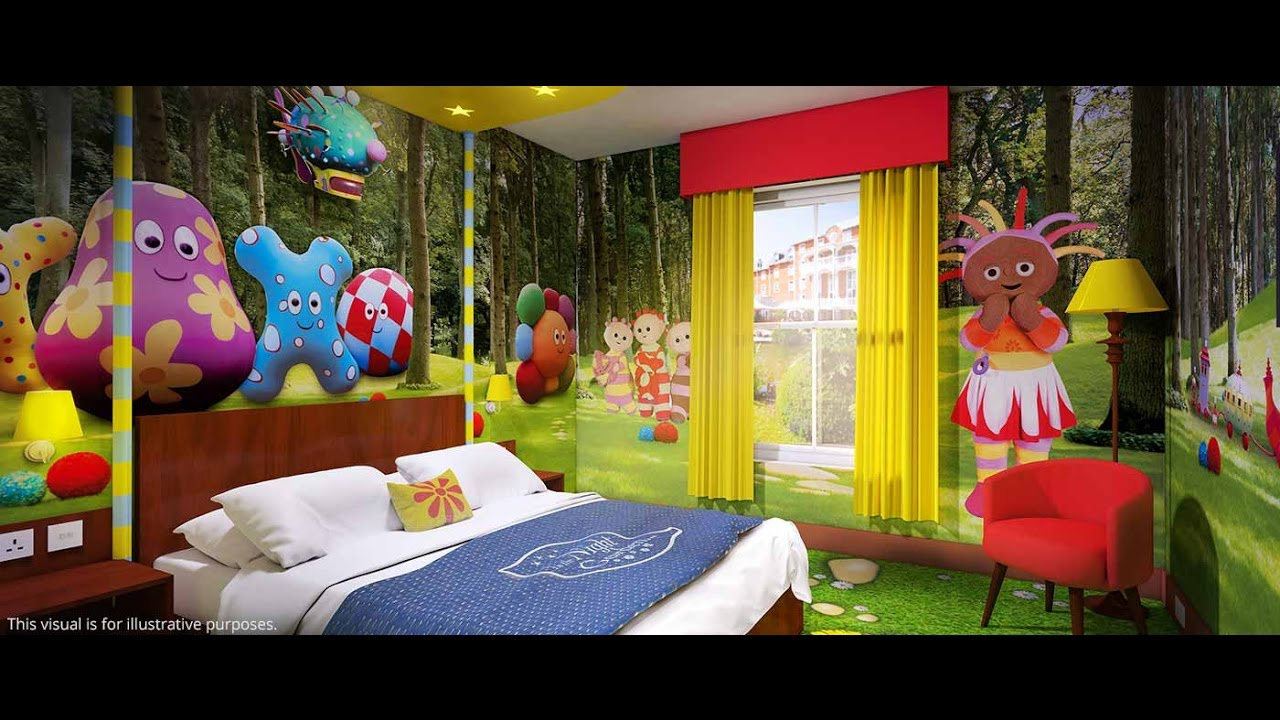 Awesome hotel rooms for kids in alton towers resort for Funky hotels uk