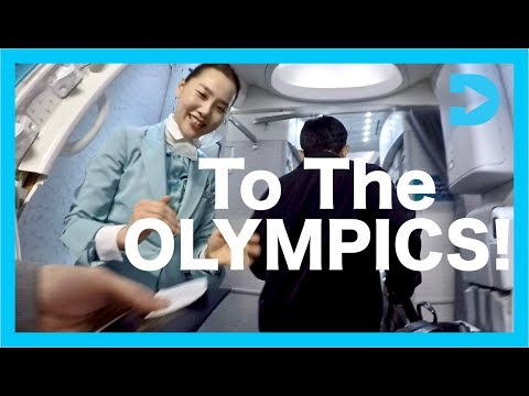 Moving to Korea for the Olympics - Travel vlog 2018