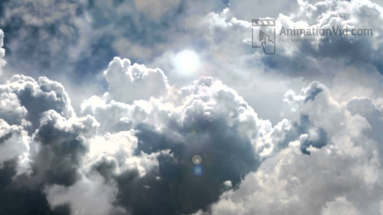 3d sky and clouds animation wallpaper youtube