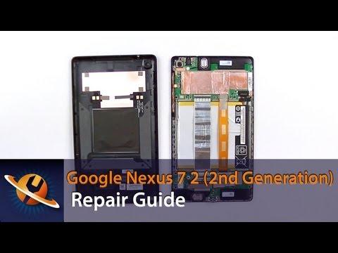 Google Nexus 7 2 (2nd Gen) Take Apart Repair Guide