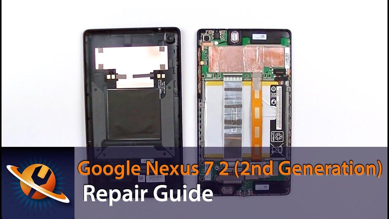 google nexus 7 2 2nd gen take apart repair guide youtube nexus 7 circuit diagram [ 1280 x 720 Pixel ]