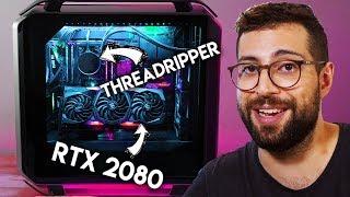 EL PC de 4250€ 😱 Threadripper + MSI RTX 2080 Gaming X Trio