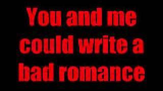 Bad Romance by Alex Goot + LYRICS