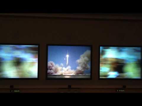 Jo rocket launch footage - JK Space Centre VIP tour '15 - 4