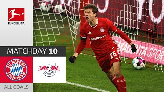 Incredible match at top of the table! | Bayern - Leipzig | 3-3 | All Goals | MD 10 – BL 2020/21