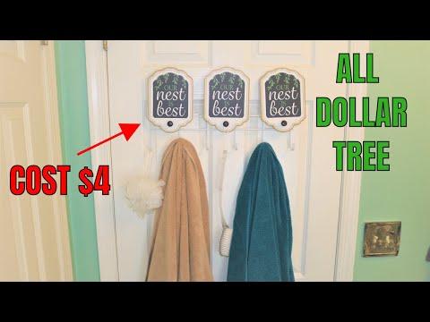 TOWEL HOLDER FOR BATHROOM DO IT YOURSELF   Dollar Tree   SHANETTADIYLIFE