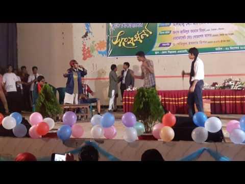 Sristy college of tangail Nobin boron 2016 (thela group) natok