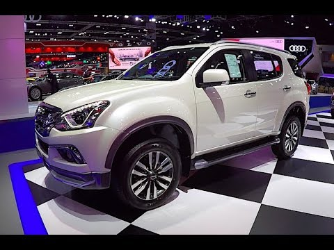 New 2018 SUV ISUZU MU-X 2019 - YouTube