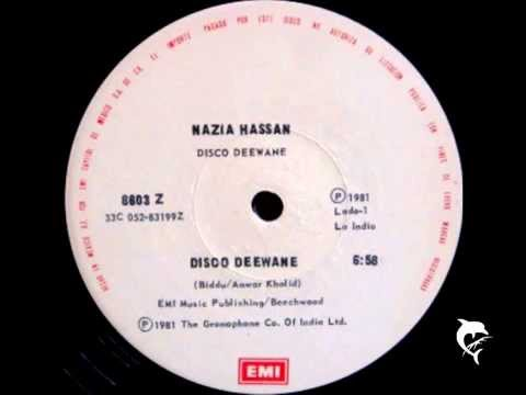 NAZIA HASSAN - DISCO DEEWANE - EXTENDED 12'' - 1981