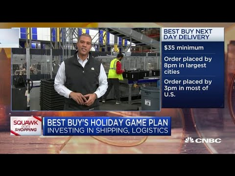 Here's Best Buy's Holiday Game Plan