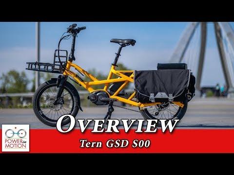 Tern GSD S00 Overview | Electric Cargo Utility Bike | Calgary, Alberta, Canada
