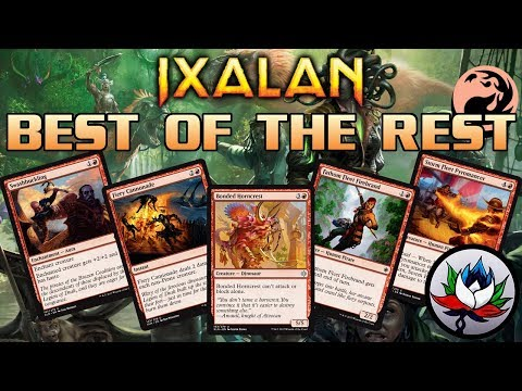 MTG - Ixalan Spoilers: Best of the Rest Set Review – Part 4: Red!