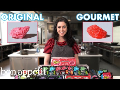 Watch Bon Appétit's Claire Saffitz try her hand at gourmet Pop Rocks
